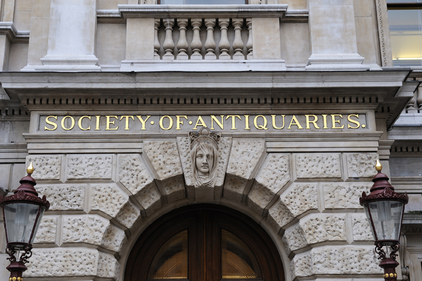 Entrance to the Society of Antiquaries