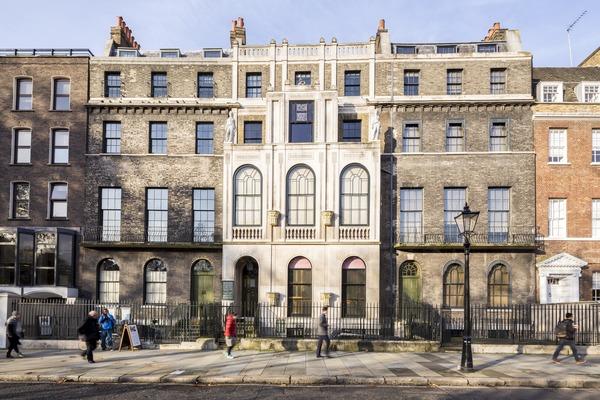 Sir John Soane's Museum facade