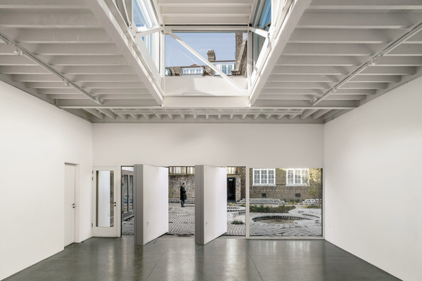 South London Gallery, Clore education building interior, 6a architects 2010