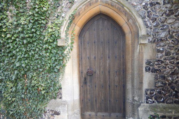 Clergy Vestry Door