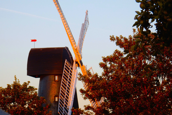 Sunset at Brixton Windmill