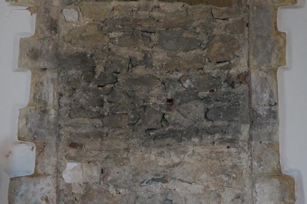 12th Century Norman blocked-up window