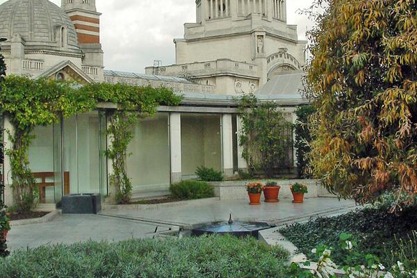 Ismaili Centre courtyard