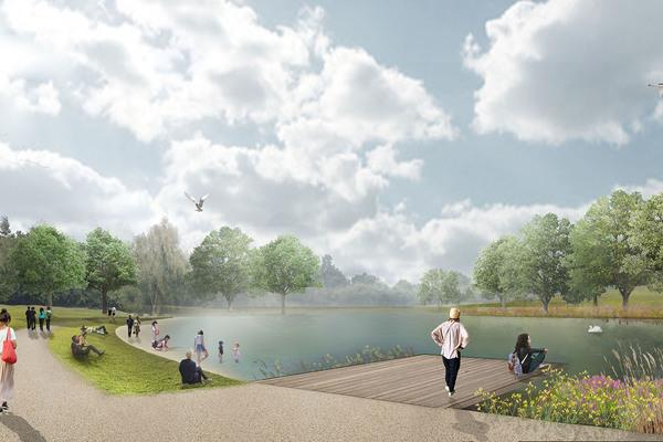 Lake Visual