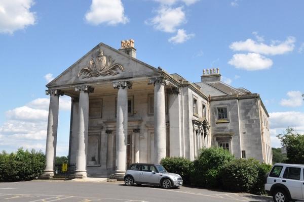 Beckenham Place Park mansion front elevation
