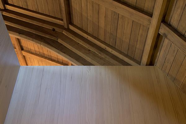 roof and mezzanine