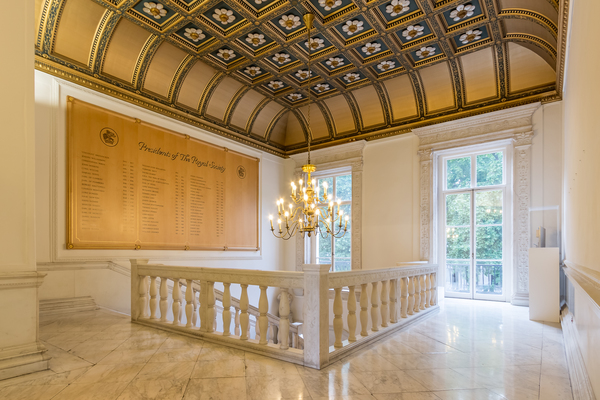 The Royal Society, Marble Staircase