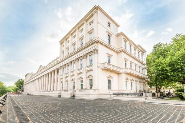 The Royal Society, Back Exterior