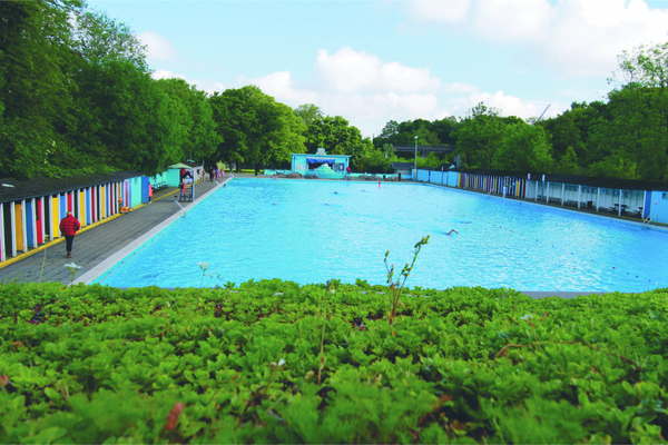 Tooting Bec Lido Open House London 2017