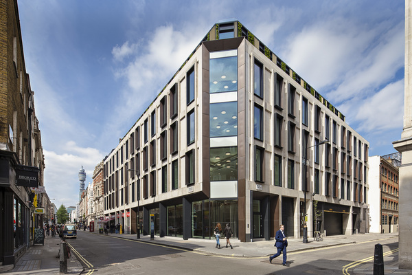 Exterior View from Wardour Street