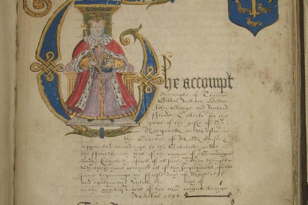 Elizabeth I initial in St Margaret Westminster records
