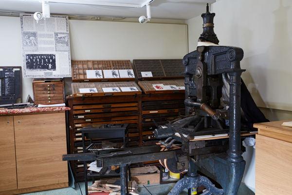 William Morris's Albion printing press