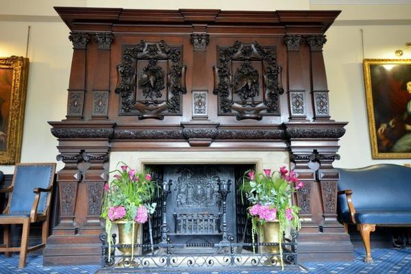 Fireplace - Reception York House