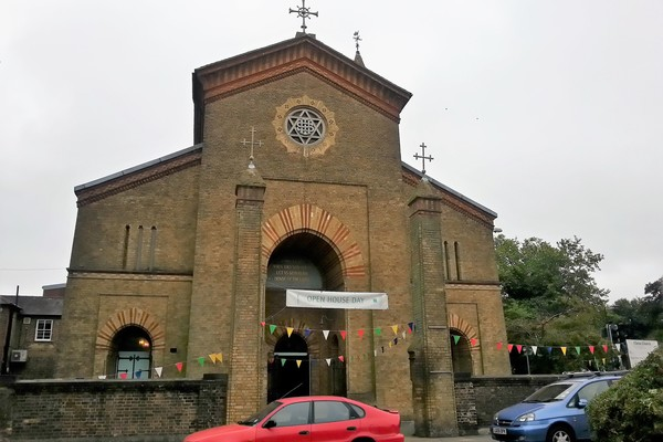 West Entrance of Christ Church