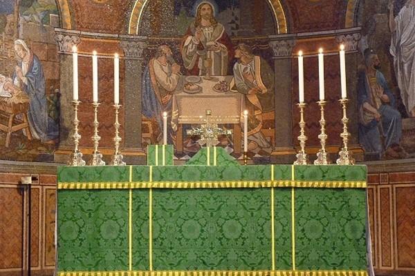 Apse showing mosaics
