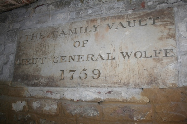 General Wolfe's Family Vault