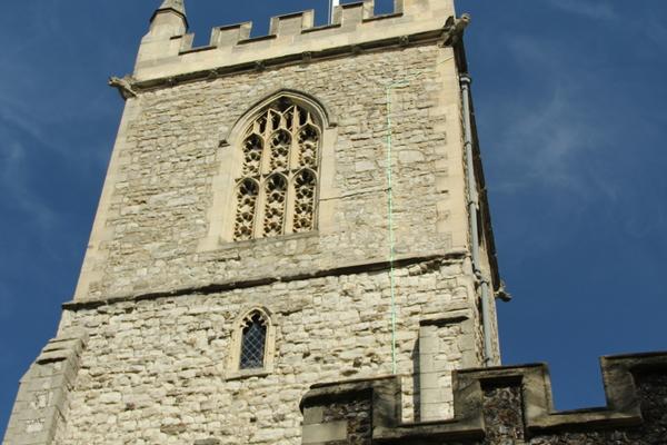 St Dunstan, Stepney: Tower
