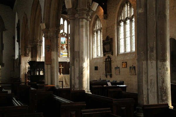 Interior, looking towards Lady Chapel
