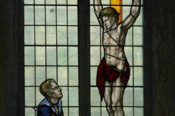Memorial Window: The Men of the Seas