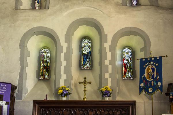 Chancel Window Arrangement