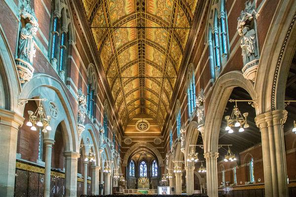 St Mary Magdalene Church nave