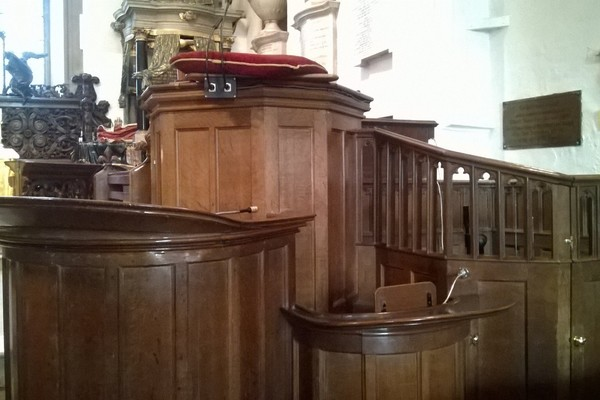 Georgian Three-Decker Pulpit