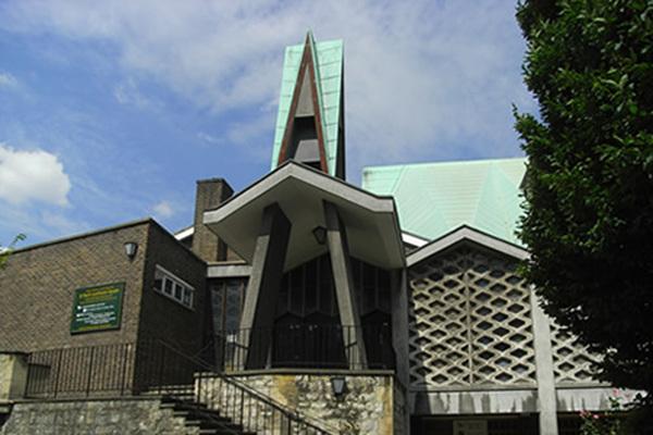 St Paul's Church Lorrimore Sq Outside