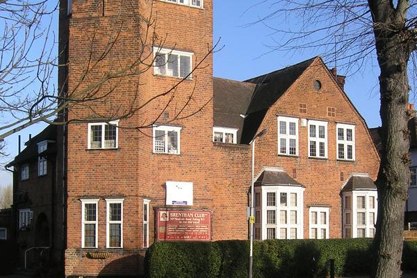 Brentham Club & Institute, opened 1913