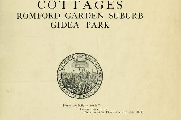 Gidea Park Exhibition 1921