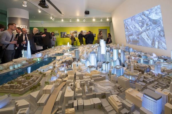 City Centre architectural model