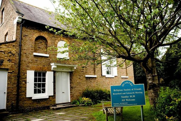 Brentford and Isleworth Quaker Meeting House front 1