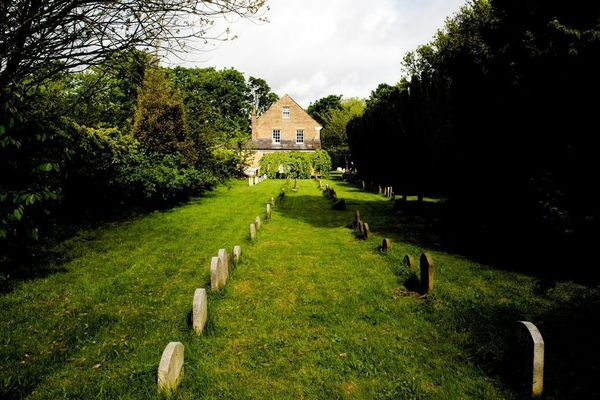 View from burial ground 1