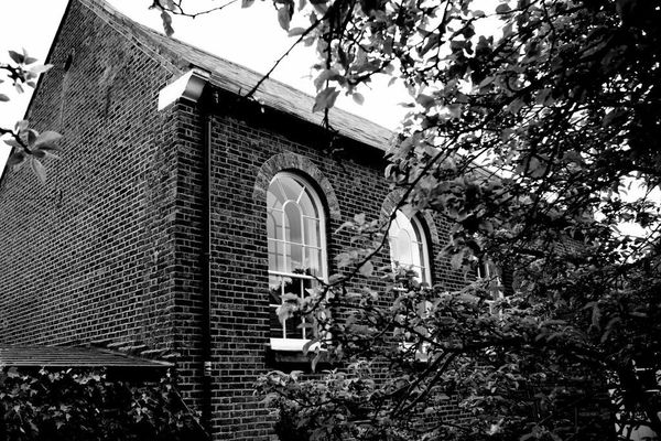 Meeting House black and white 1