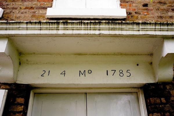 Brentford and Isleworth Quaker Meeting House front 2