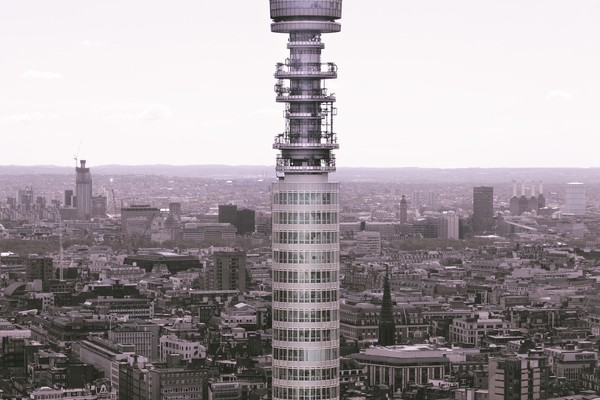 View of BT Tower