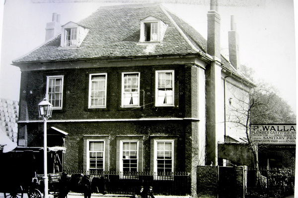 Bromley Hall Front 1890
