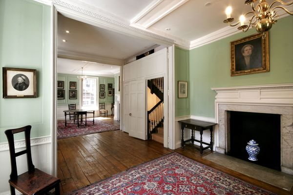 The Withdrawing Room at Dr Johnson's House