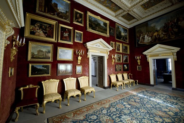 Chiswick House Red Velvet Room