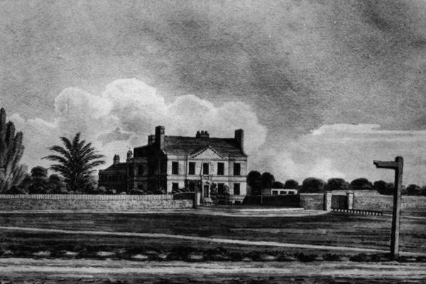 The original Spring Grove House, late 18th century