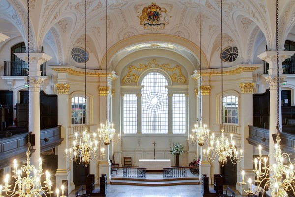 St Martin-in-the-Fields interior