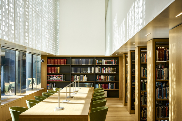 Dana Research Centre and Library: reading room