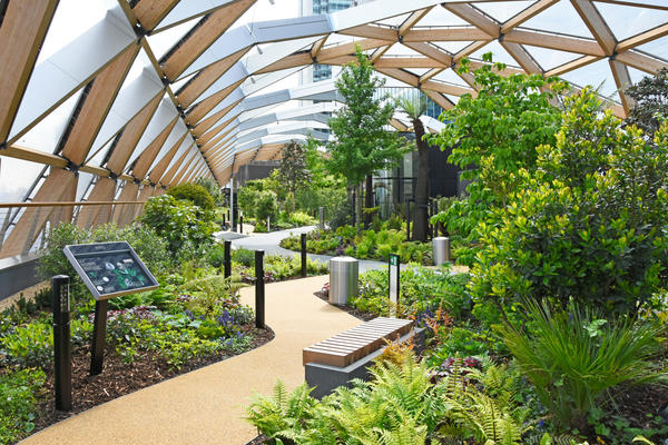 Visitors to the garden will find it both relaxing and informative