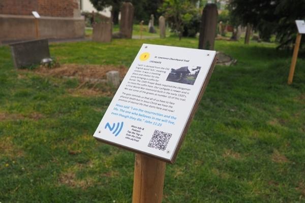Churchyard trail