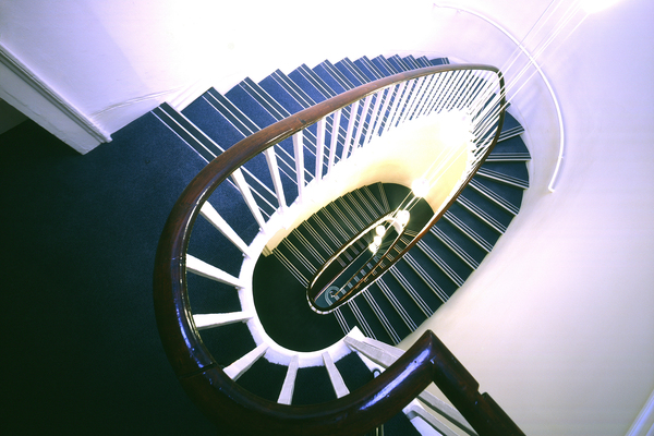 Elliptical Staircase