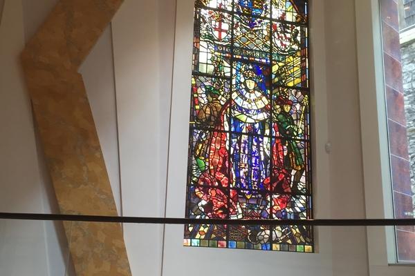 Stained Glass Window by Leonard Walker