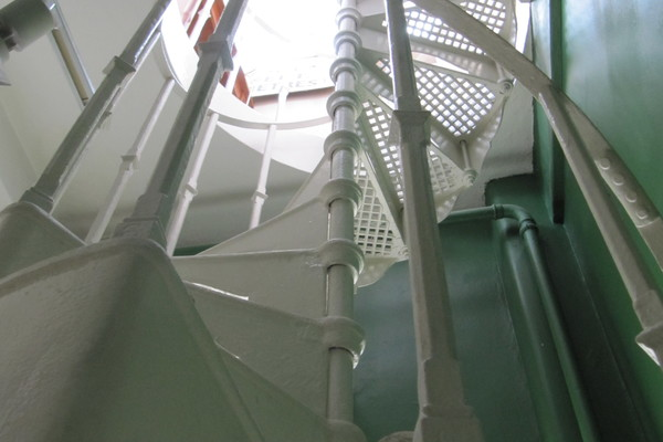 1928 Spiral Staircase leading to former Air Traffic Control Tower