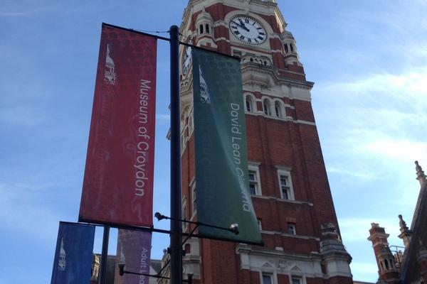 Croydon Clocktower viewed from Katharine Street