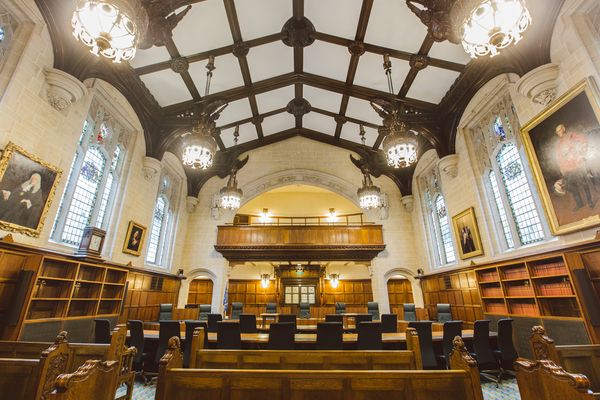 Court One (previously Middlesex County Council's debating chamber)