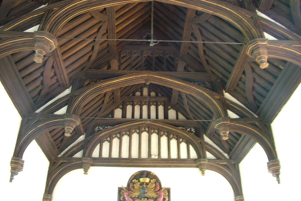 Great hall roof