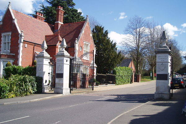 Repton Park Entrance